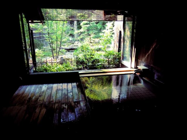 お風呂から眺める坪庭に植木はどんなものがいいの
