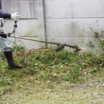 草刈り機の使い方草を刈るときのテクニック