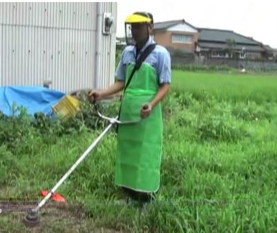 草刈り機の使い方ナイロンカッターはどんな時使えばいい